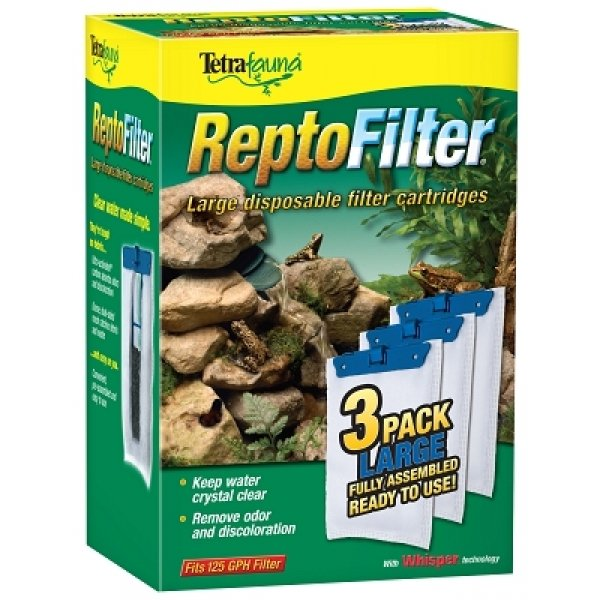 Repto Filter Cartridge Large / 3 Pk.