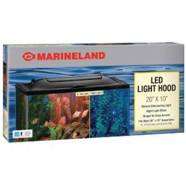 Led Aquarium Hood / Size 20 X 10 In