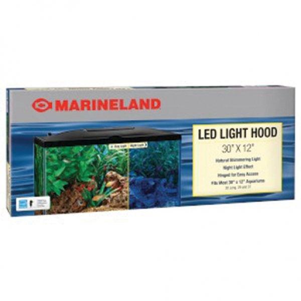Led Aquarium Hood / Size 30 X 12 In