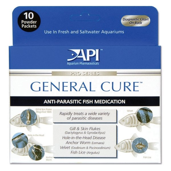 General Cure Powder Packets For Fish