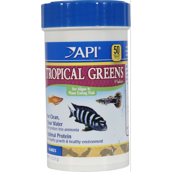 Api Tropical Greens Premium Flakes 2.1 oz. Best Price