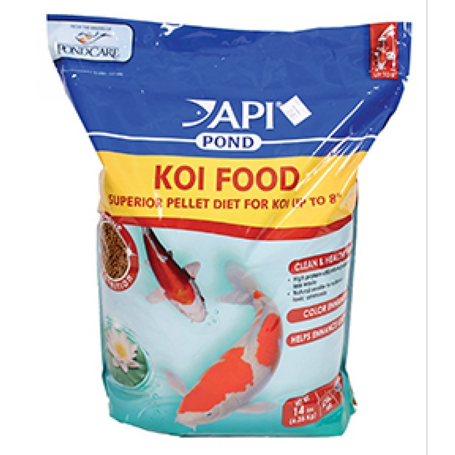 Api Pond Koi Food / Size 14 Lb.