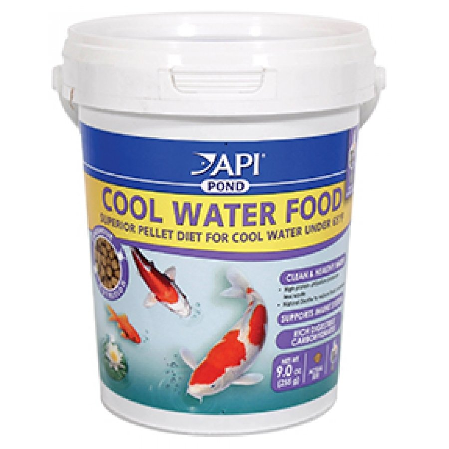 Api Pond Cool Water Food / Size 9 Oz.