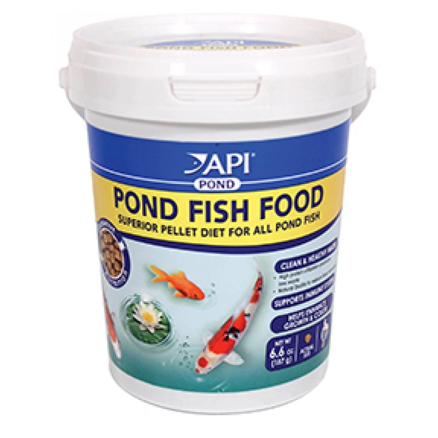 Api pond pond fish food pond supplies gregrobert for Koi pond store