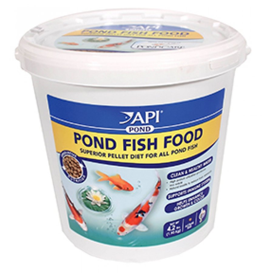 Api pond pond fish food pond supplies gregrobert for Pond fish food