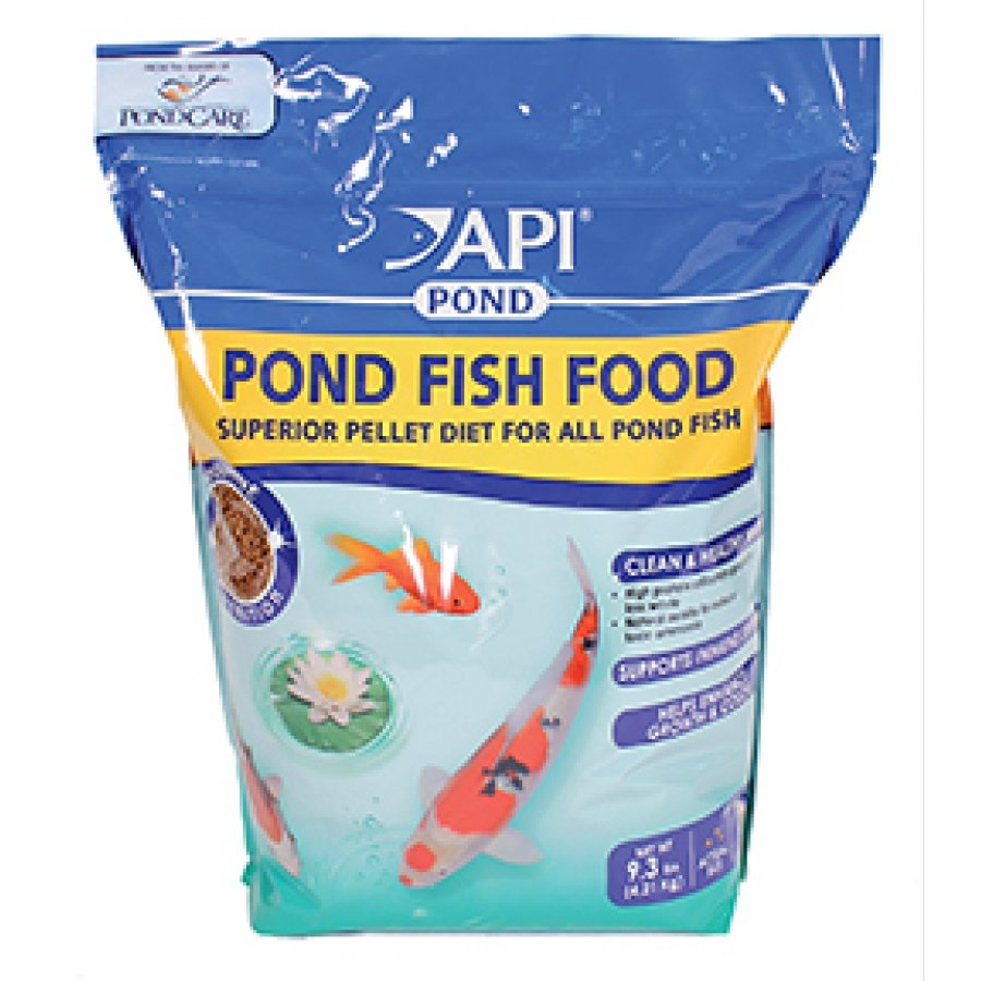 Api pond pond fish food 9 3 lb pet supplies comparison for Pond fish food