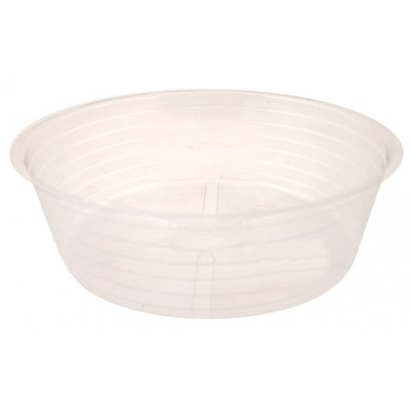 Deep Clear Plastic Saucer (Case of 25) / Size (10 in.) Best Price
