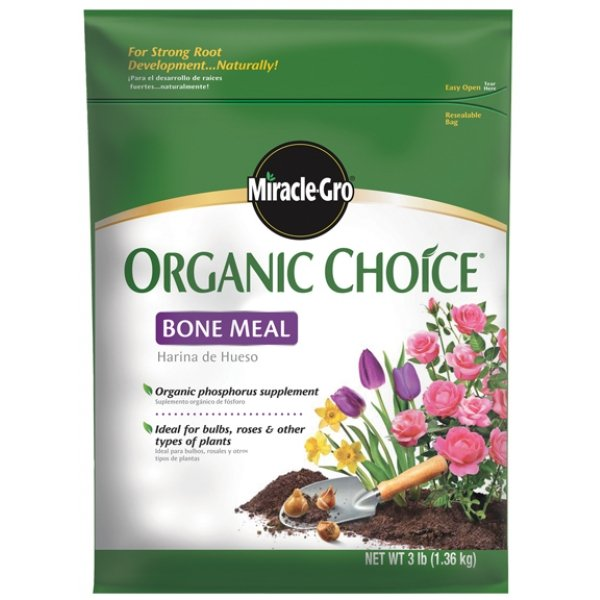 Miracle Gro Organic Choice Bone Meal 3 lbs Best Price