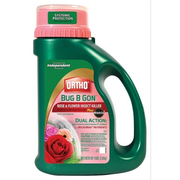 Ortho Bug-B-Gon Rose Flower Insect Killer Plus 4 lbs.  (Case of 6) Best Price