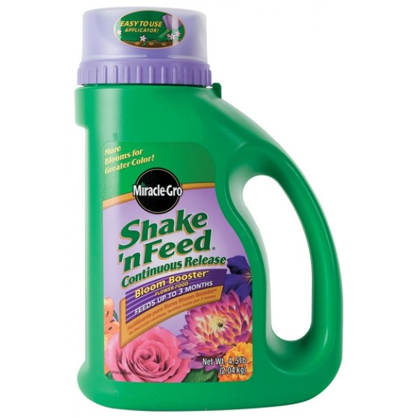MiracleGro Shake N Feed Bloom Booster 4.5 lbs Best Price