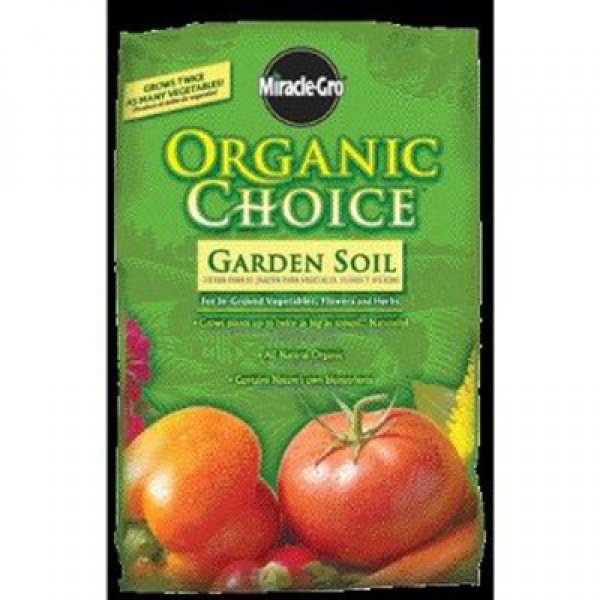 Miracle-Gro Organic Choice Garden Soil / Size (1.5 cu. ft.) Best Price