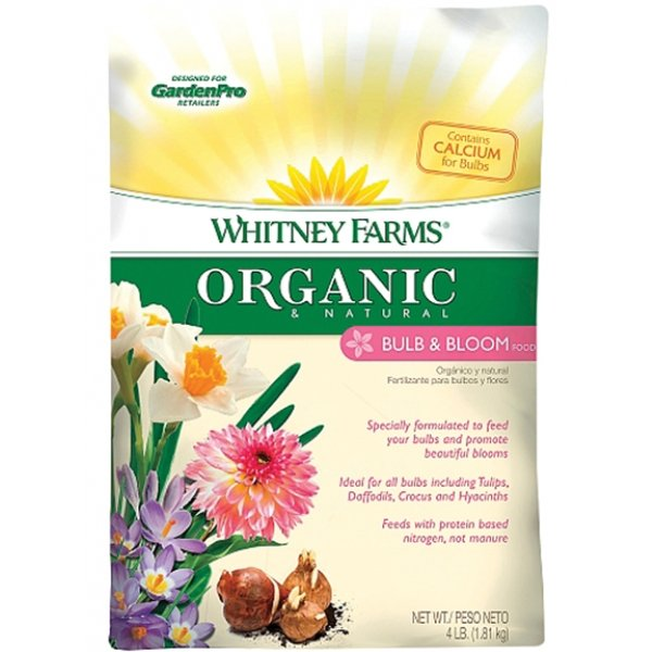Whitney Farms Organic and Natural Bulb and Bloom Food (Case of 6) Best Price