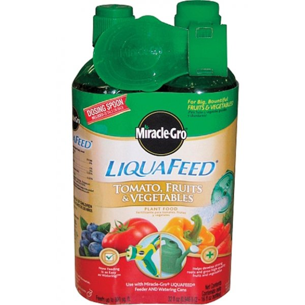 Miracle-gro Liquafeed Fruits/vegetables Plant Food (Case of 6) Best Price