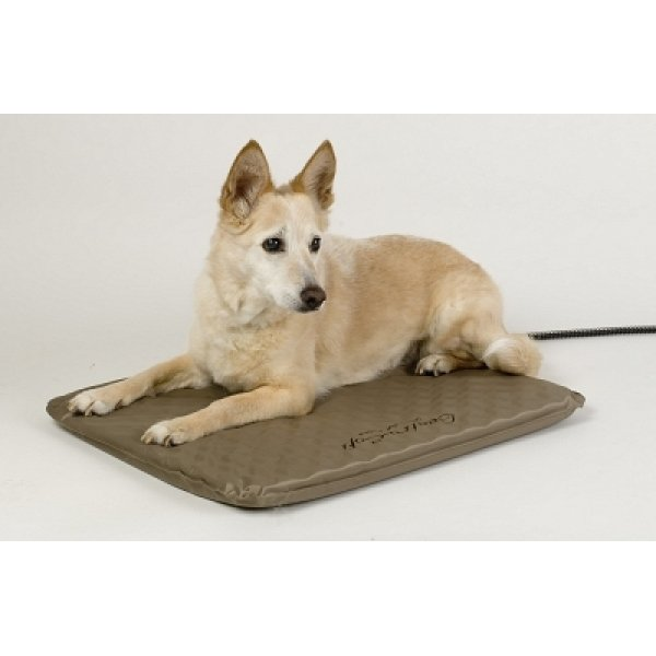 Lectro Soft Outdoor Heated Pet Bed / Size Medium