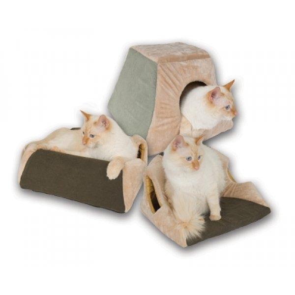 Thermo Kitty Cabin / Color Mocha