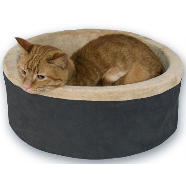 Thermo-Kitty Bed - Heated Cat Bed / Color (Mocha / 20 in) Best Price
