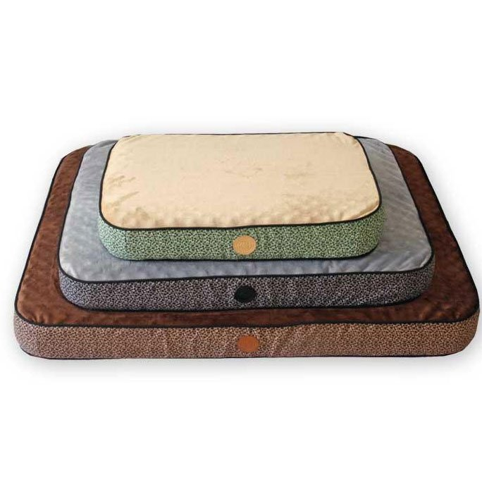 Superior Orthopedic Dog / Cat Bed / Size Small / Mocha