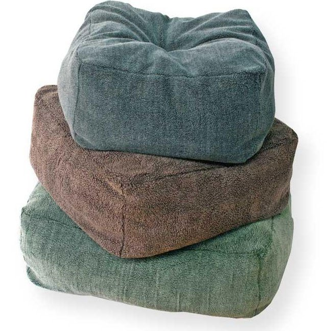 Cuddle Cube 12 in. Thick Pet Bed / Size (24 x 24 in / Green) Best Price