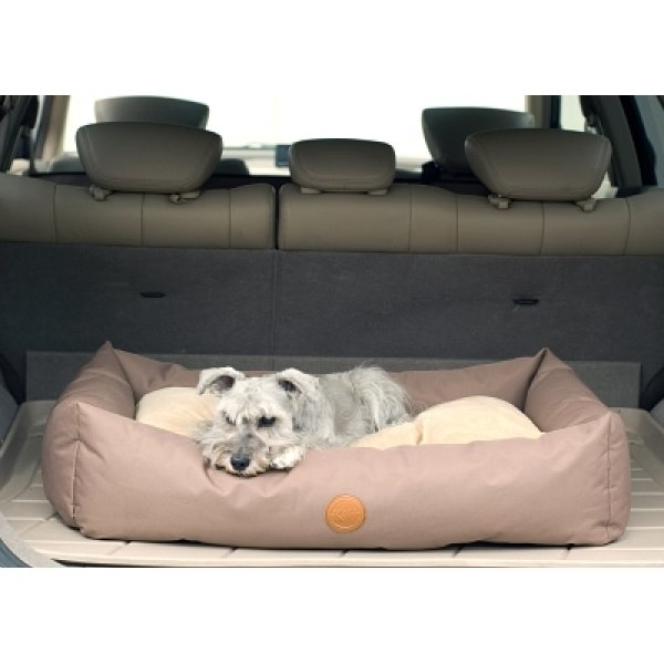 Travel / Suv Pet Bed / Size 24 X 36 In / Tan