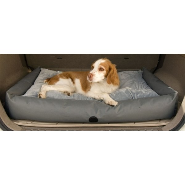 Travel / SUV Pet Bed / Size (30 x 48 in / Gray)