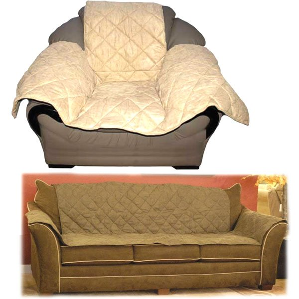 Pet Furniture Cover / Size Couch / Mocha