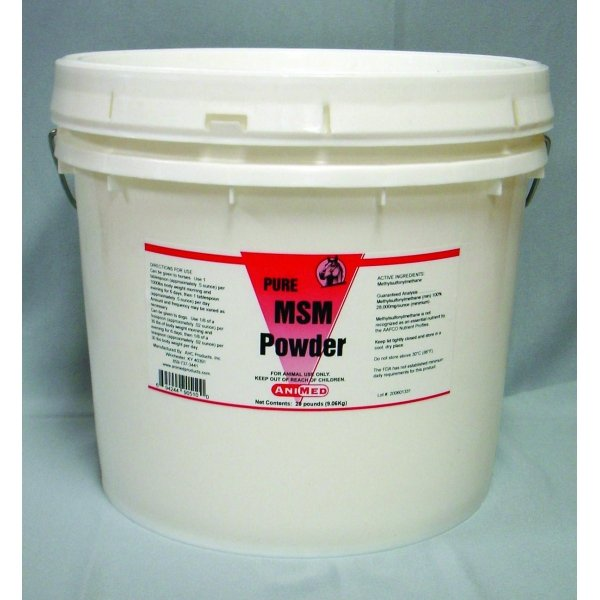 99.9% MSM Pure Powder for Horses / Size (20 lbs.) Best Price