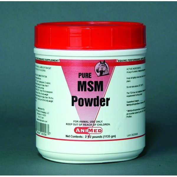 99.9% MSM Pure Powder for Horses / Size (2.5 lbs) Best Price