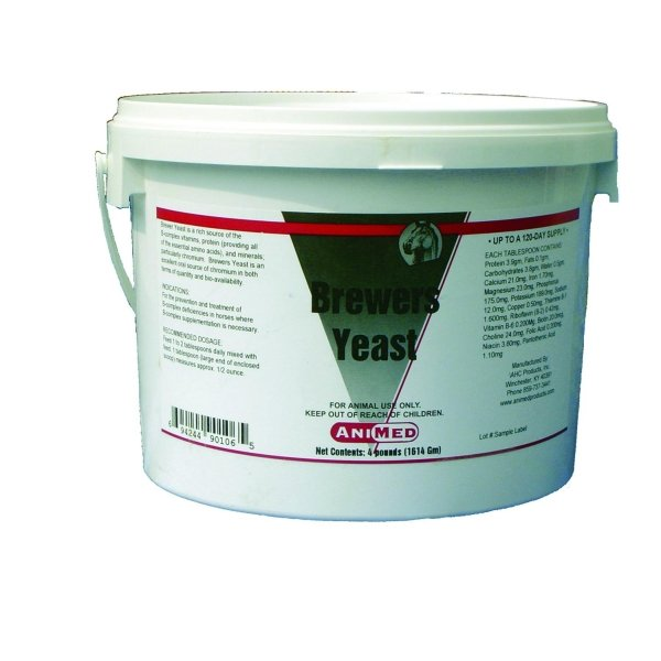 Animed Brewers Yeast for Horses / Size (4 lbs.) Best Price