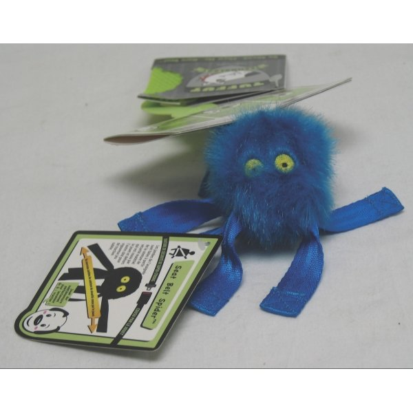 Seat Belt Spider Toy for Dogs / Size (Small Blue) Best Price