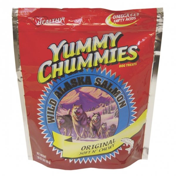 Yummy Chummies Salmon Dog Treat Soft N Chewy / Size 1.25 Lbs.