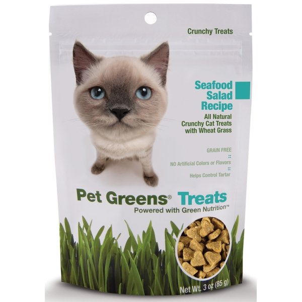 Crunchy Cat Treats / Flavor (Seafood) Best Price
