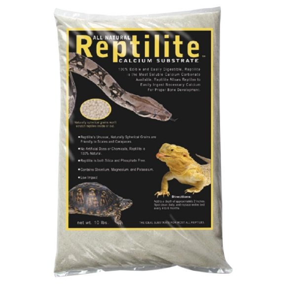 Reptilite for Arachnids /Reptiles / Color (White / 10 lbs each.) Best Price