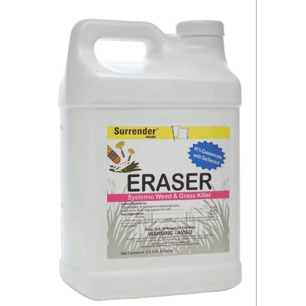 Eraser 41% Systemic Weed Control / Size (2.5 gallons) Best Price