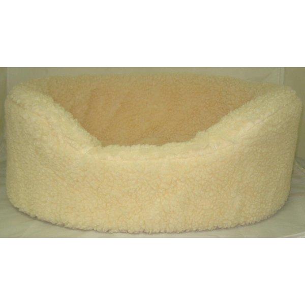 Pet Sheep Skin Lounger / Size S