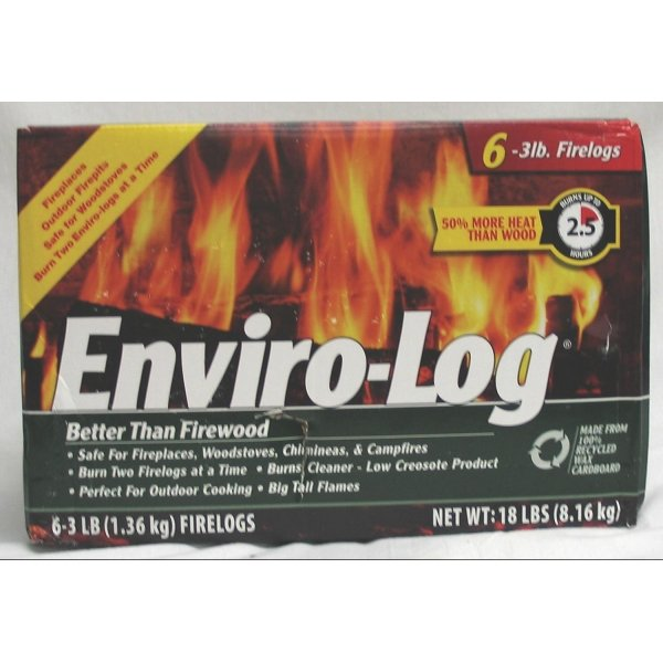 Enviro Log FireLogs / Size (3 lb each / 6 pk) Best Price