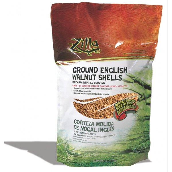 English Walnut Shell Litter for Reptiles / Size (10 Qts.) Best Price