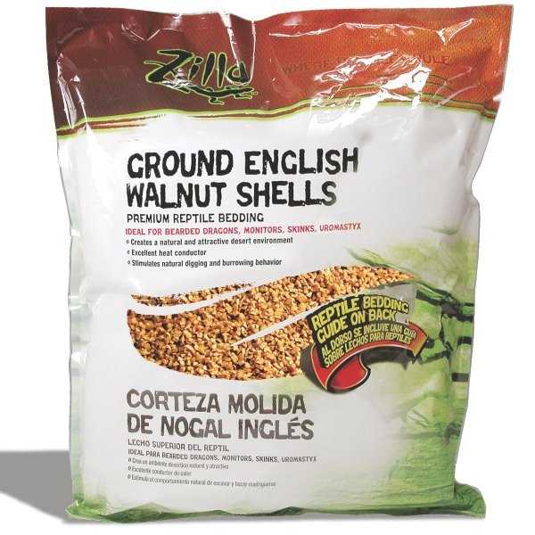 English Walnut Shell Litter for Reptiles / Size (25 Qts.) Best Price