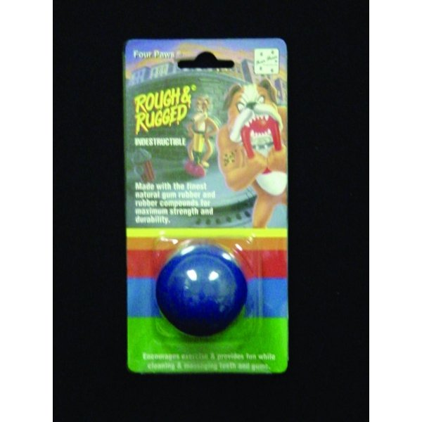 Four Paws Rough & Rugged Solid Ball / Size (1 5/8 inc.)