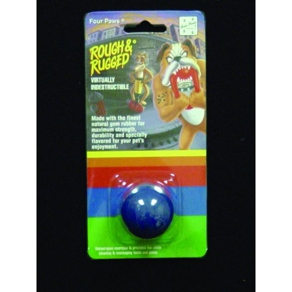 Four Paws Rough & Rugged Solid Ball / Size (2 in.)