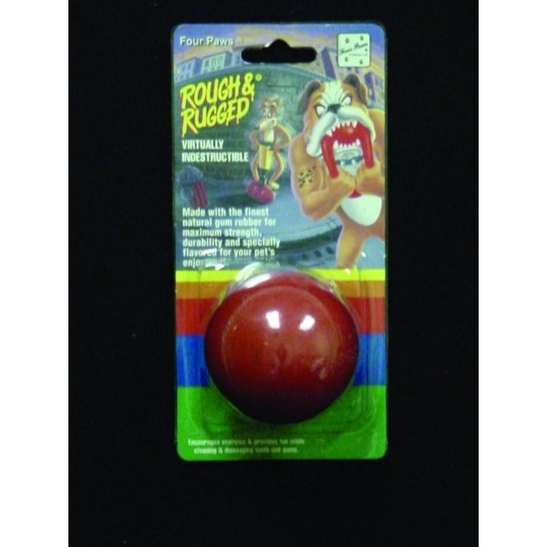 Four Paws Rough Rugged Solid Ball / Size 2.5 In.