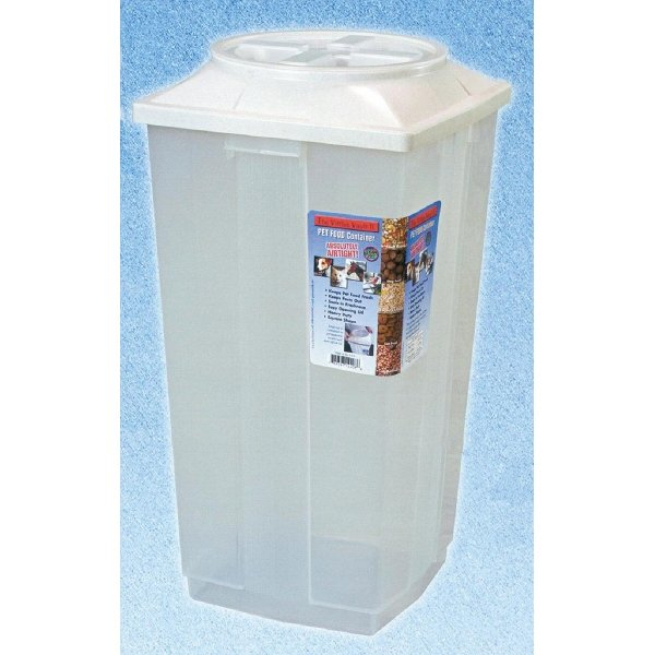 Vittles Vault Ii Feed / Seed Storage / Lid Color White / 30 Lbs