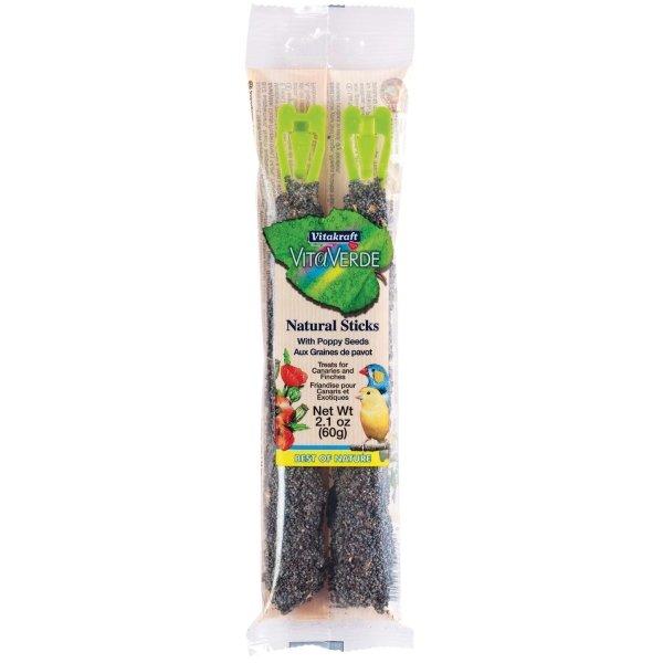 Natural Bird Stick / Flavor Poppy Seed