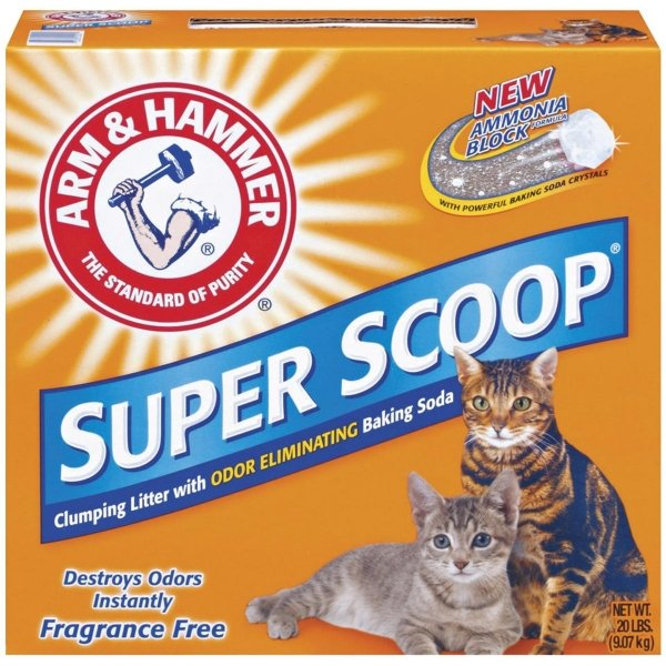 Super Scoop Clumping Litter Unscented / Size 21 Lbs.