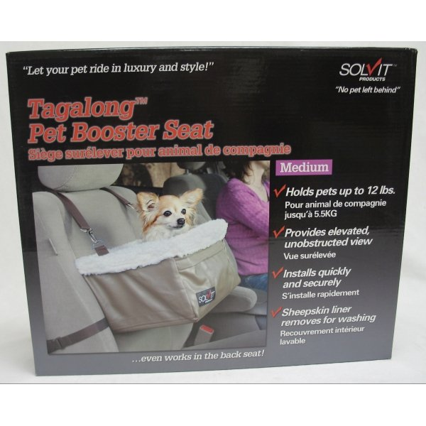 Tagalong Dog Booster Seat / Size (Med. / Standard) Best Price