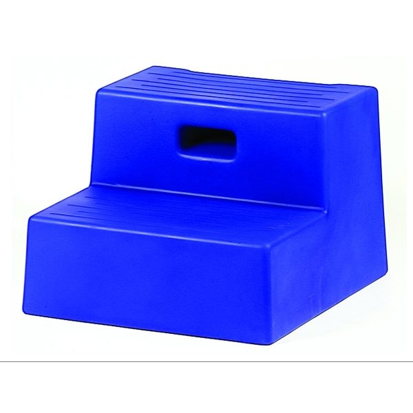 Horse Mounting Step - 2 step / Color (Blue) Best Price