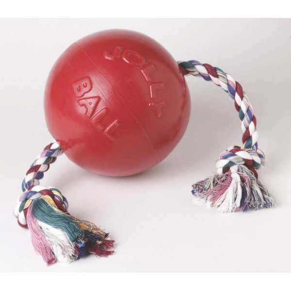 Romp-n-Roll Tug Ball / Size (4.5 in. Red)