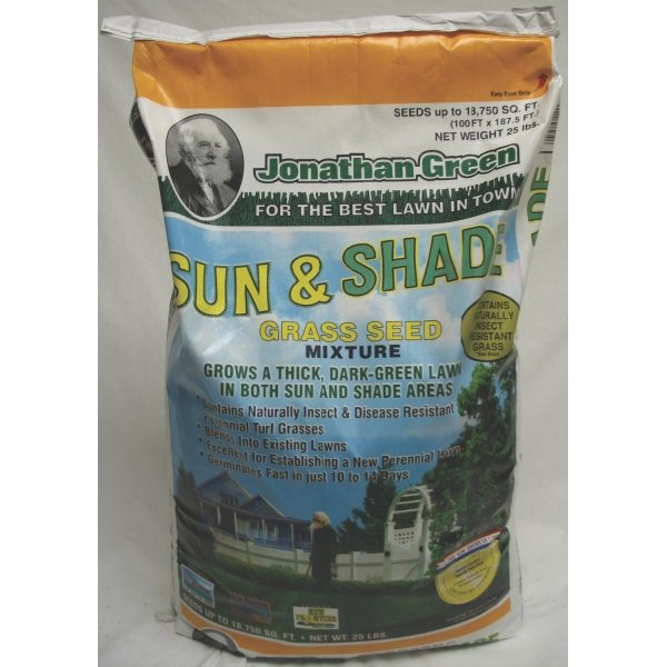 Sun and Shade Grass Seed / Size (25 lbs.) Best Price