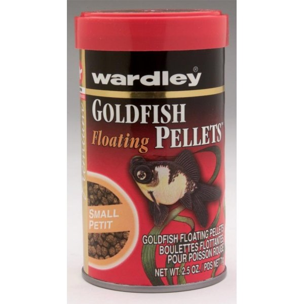 Goldfish Floating Pellets / Size 2.5 Oz