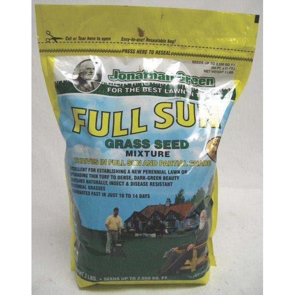 Full Sun Grass Seed / Size (3 lbs.) Best Price