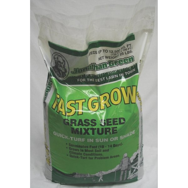 Fast Grow Grass Seed / Size (25 lbs.) Best Price